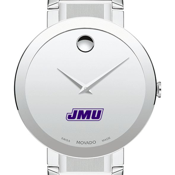 James Madison University Men's Movado Sapphire Museum with Bracelet
