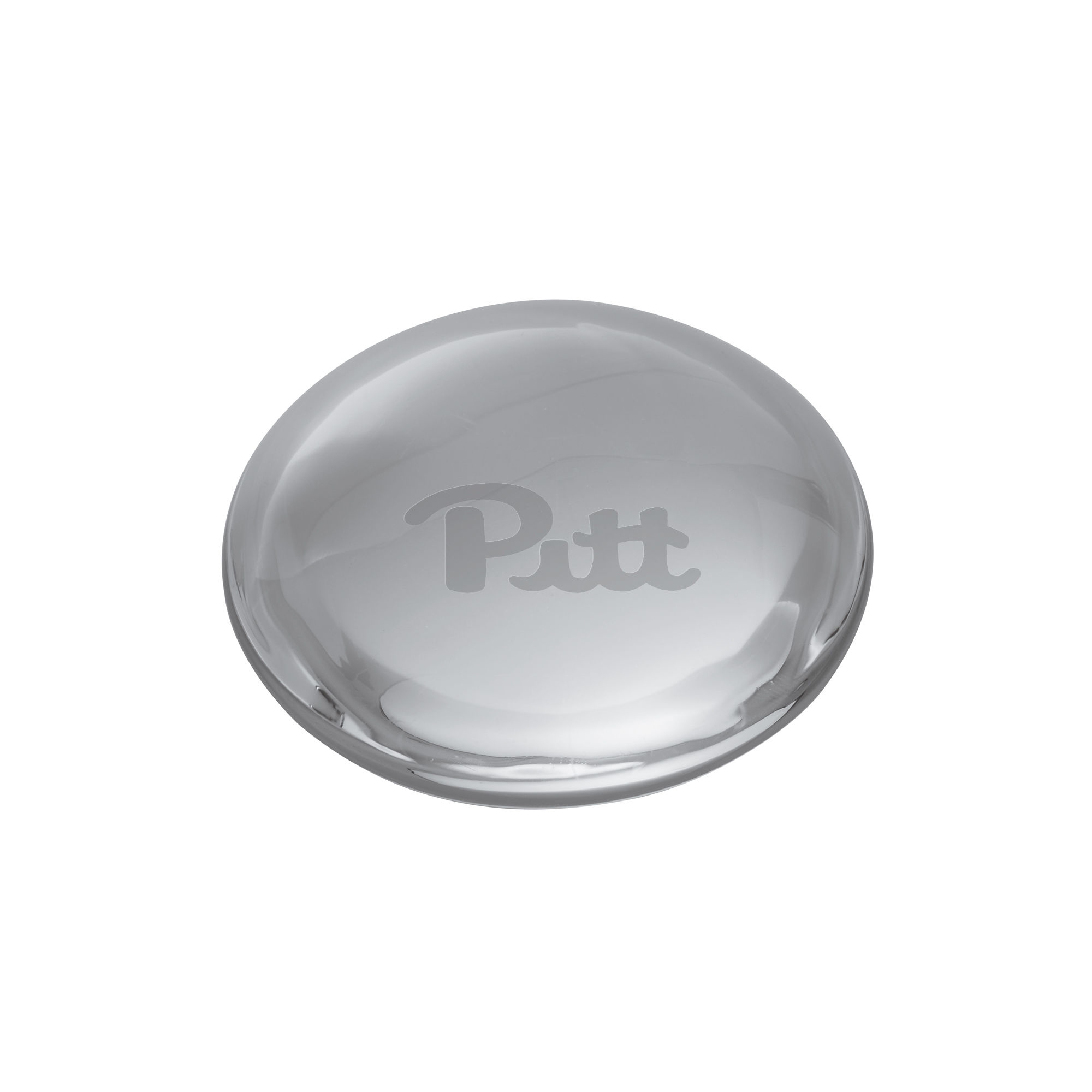 Pitt Glass Dome Paperweight by Simon Pearce