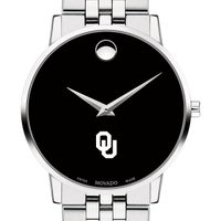 University of Oklahoma Men's Movado Museum with Bracelet