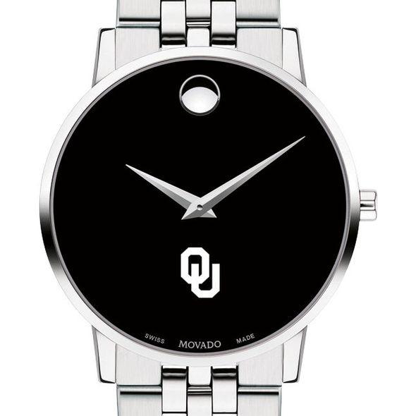 University of Oklahoma Men's Movado Museum with Bracelet
