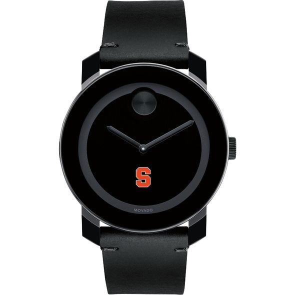 Syracuse University Men's Movado BOLD with Leather Strap - Image 2