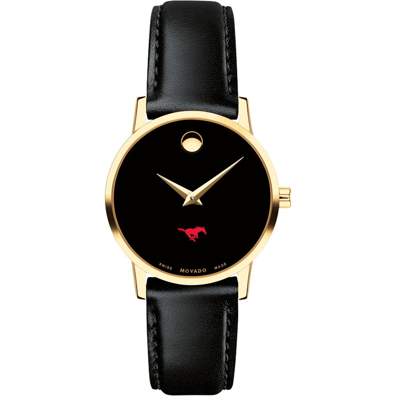 SMU Women's Movado Gold Museum Classic Leather - Image 2