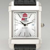 MIT Sloan Men's Collegiate Watch with Leather Strap