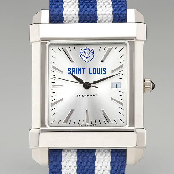 Saint Louis University Collegiate Watch with NATO Strap for Men