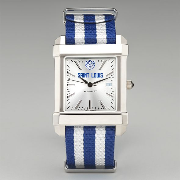 Saint Louis University Collegiate Watch with NATO Strap for Men - Image 2