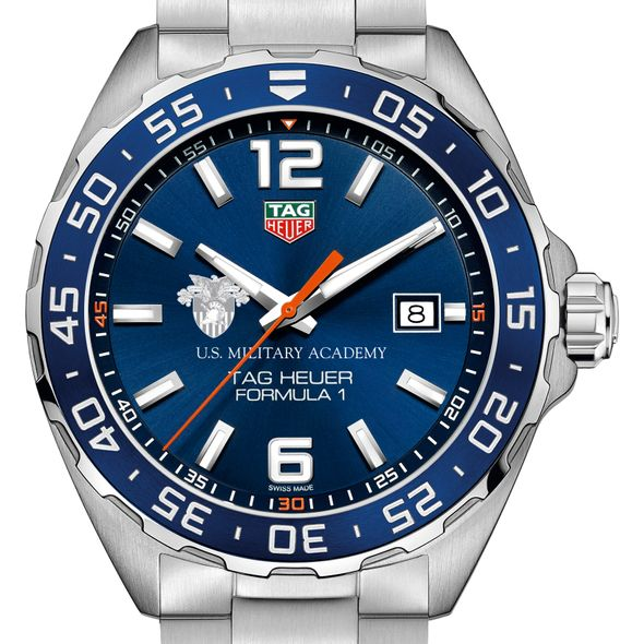 US Military Academy Men's TAG Heuer Formula 1 with Blue Dial & Bezel