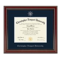 Christopher Newport University Diploma Frame, the Fidelitas