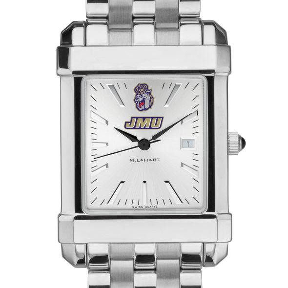 James Madison Men's Collegiate Watch w/ Bracelet