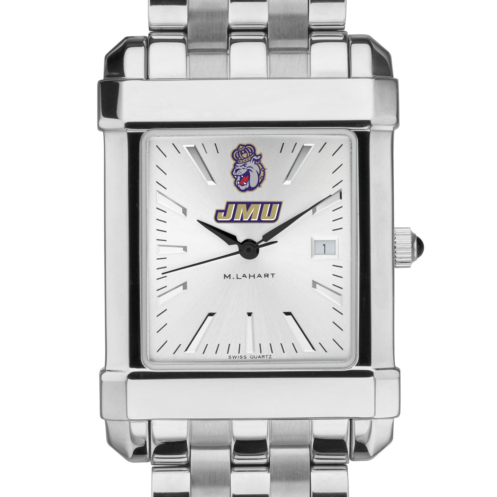 James Madison Men's Collegiate Watch w/ Bracelet