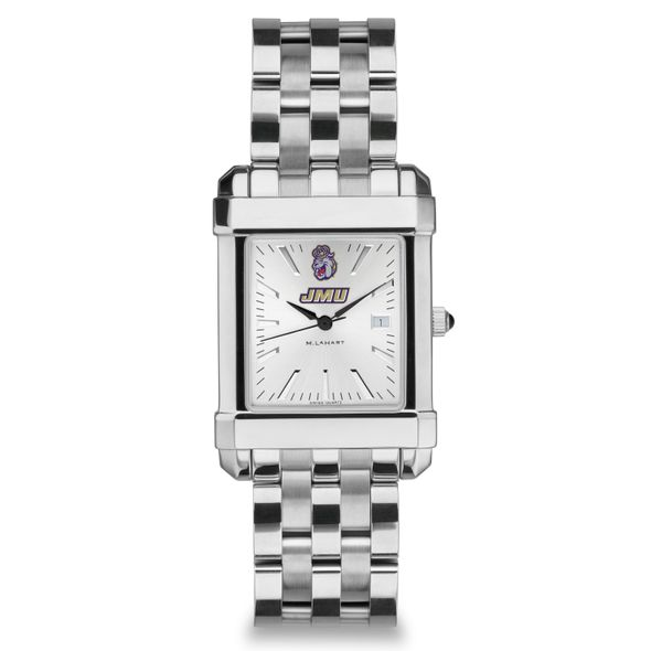James Madison Men's Collegiate Watch w/ Bracelet - Image 2