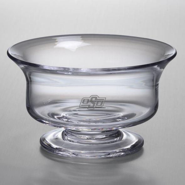 Oklahoma State University Simon Pearce Glass Revere Bowl Med - Image 1