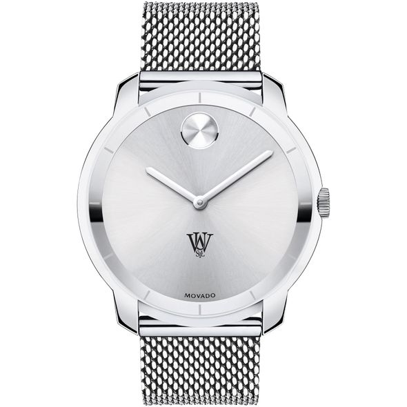 WUSTL Men's Movado Stainless Bold 44 - Image 2