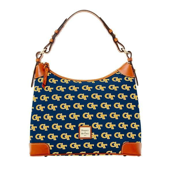 Georgia Tech Dooney Bourke Hobo Bag