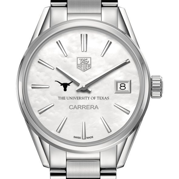 University of Texas Women's TAG Heuer Steel Carrera with MOP Dial