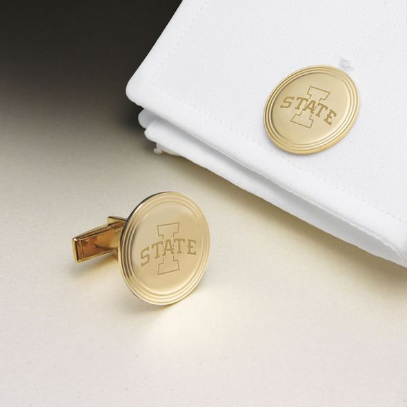 Iowa State University 18K Gold Cufflinks