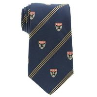 Harvard Business School School Tie in Blue