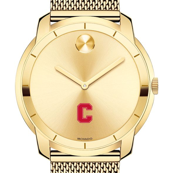 Cornell University Men's Movado Gold Bold 44