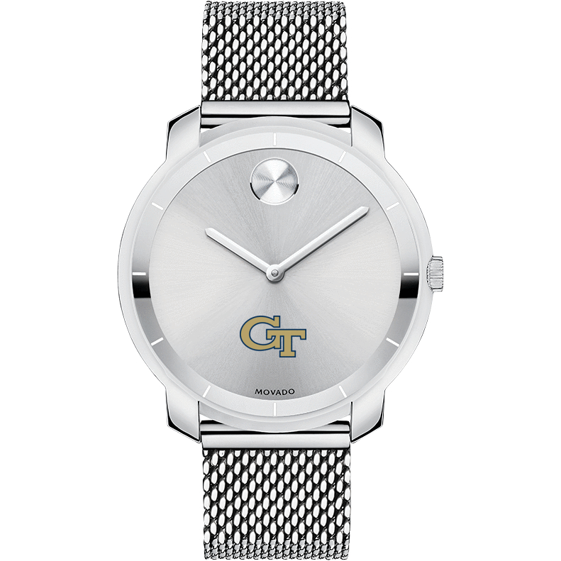 Georgia Tech Women's Movado Stainless Bold 36 - Image 2