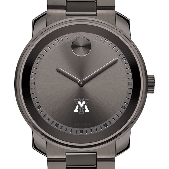 Virginia Military Institute Men's Movado BOLD Gunmetal Grey