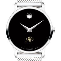 University of Colorado Women's Movado Museum with Mesh Bracelet