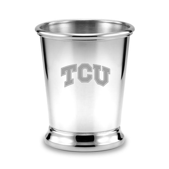 TCU Pewter Julep Cup