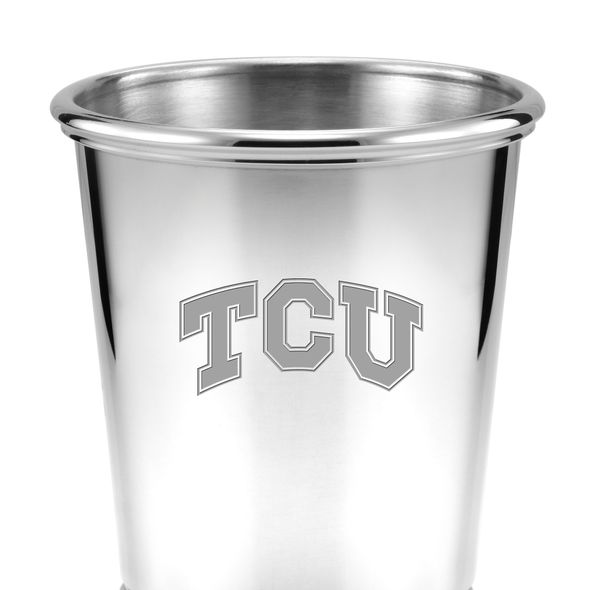TCU Pewter Julep Cup - Image 2