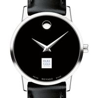 Duke Fuqua Women's Movado Museum with Leather Strap
