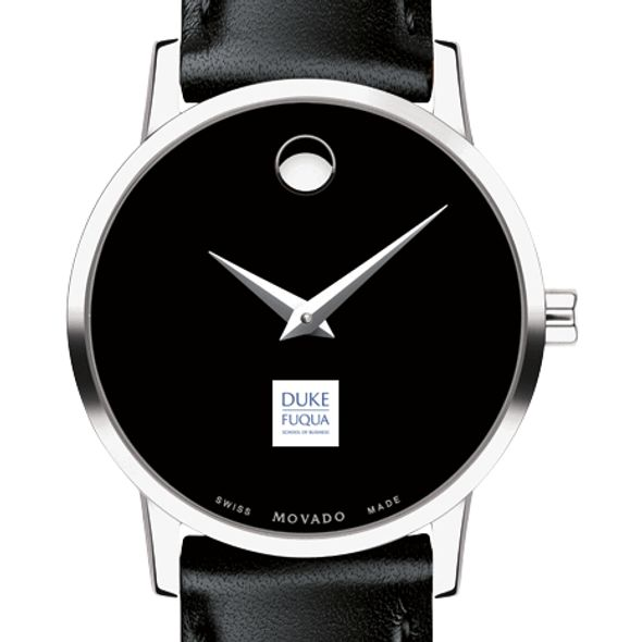 Duke Fuqua Women's Movado Museum with Leather Strap - Image 1
