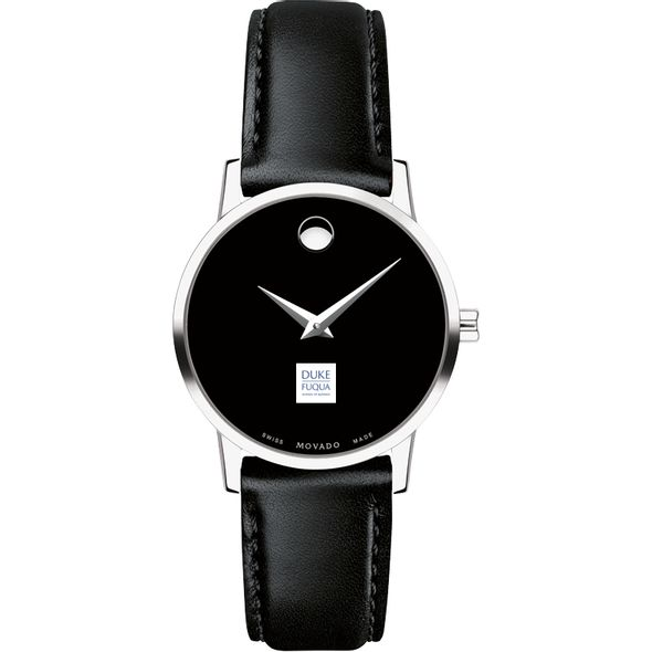 Duke Fuqua Women's Movado Museum with Leather Strap - Image 2