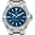 Alabama Women's TAG Heuer 35mm Steel Aquaracer with Blue Dial - Image 1