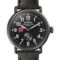 Wisconsin Shinola Watch, The Runwell 41mm Black Dial