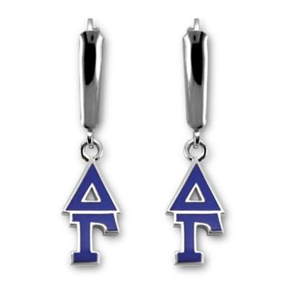 Delta Gamma Greek Letter Earrings - Image 1