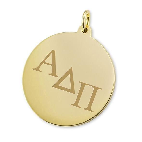 Alpha Delta Pi 14K Gold Charm