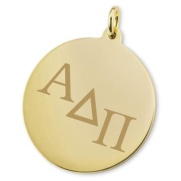 Alpha Delta Pi 14K Gold Charm - Image 2