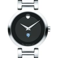 Johns Hopkins University Women's Movado Museum with Steel Bracelet