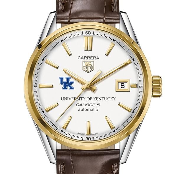 Kentucky Men's TAG Heuer Two-Tone Carrera with Strap - Image 1