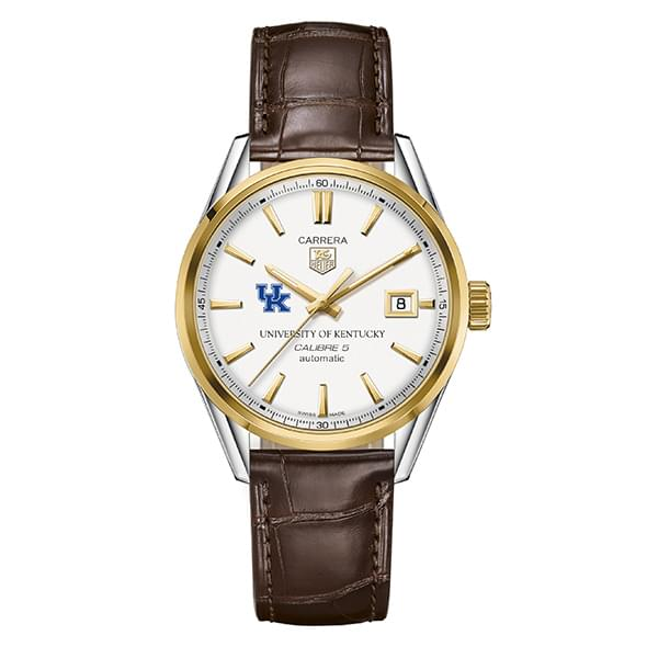 Kentucky Men's TAG Heuer Two-Tone Carrera with Strap - Image 2