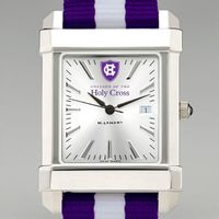 Holy Cross Collegiate Watch with NATO Strap for Men
