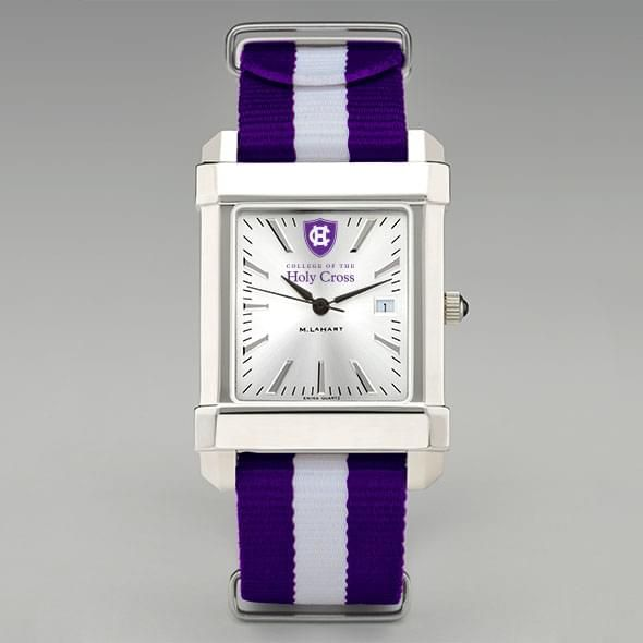 Holy Cross Collegiate Watch with NATO Strap for Men - Image 2