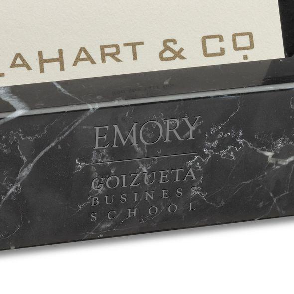 Emory Goizueta Marble Business Card Holder - Image 2