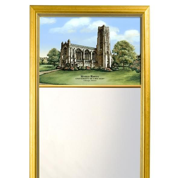 Chicago Eglomise Mirror with Gold Frame - Image 2