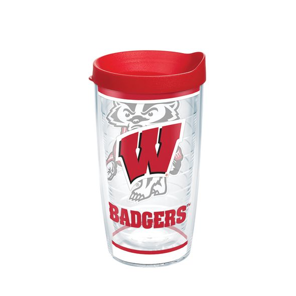 Wisconsin 16 oz. Tervis Tumblers - Set of 4 - Image 1