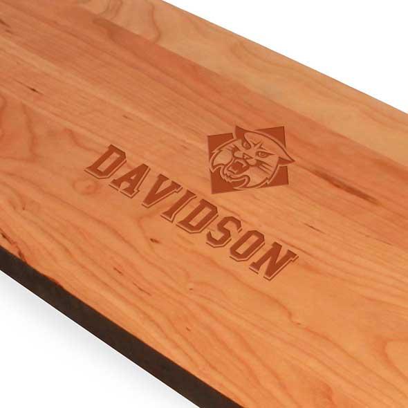 Davidson College Cherry Entertaining Board - Image 2