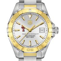Texas Tech Women's TAG Heuer Two-Tone Aquaracer