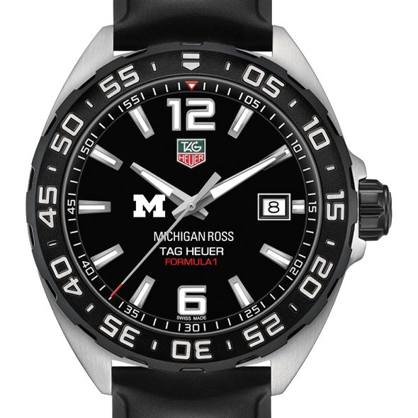 Michigan Ross Men's TAG Heuer Formula 1 with Black Dial - Image 1