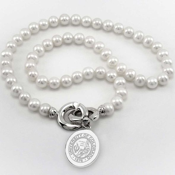 Colorado Pearl Necklace with Sterling Silver Charm - Image 1