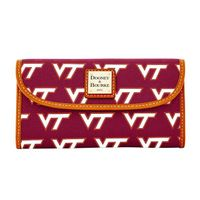 Virginia Tech  Dooney & Bourke Continental Clutch