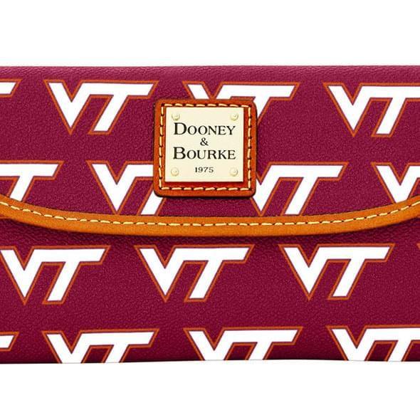 Virginia Tech  Dooney & Bourke Continental Clutch - Image 3