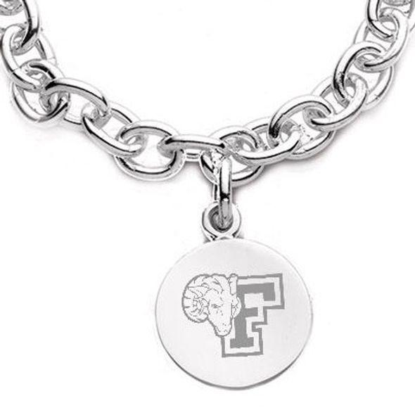 Fordham Sterling Silver Charm Bracelet - Image 2