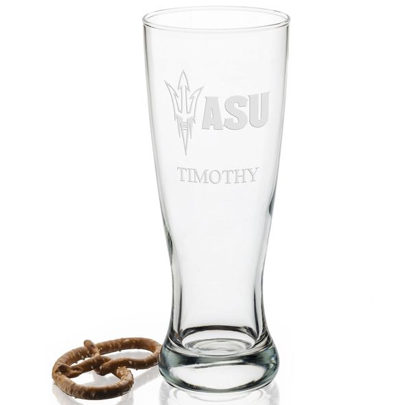Arizona State 20oz Pilsner Glasses - Set of 2 Logo A - Image 2